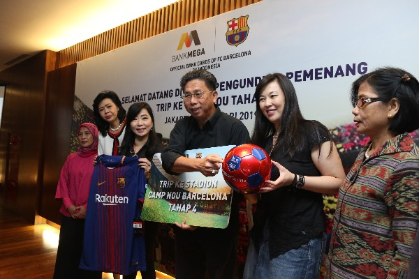 Penarikan Undian Mega Barca Ultimate Trip To Camp Nou