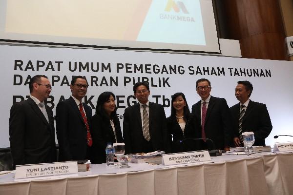 Public Expose Bank Mega, Laba Bersih Naik 23,02%