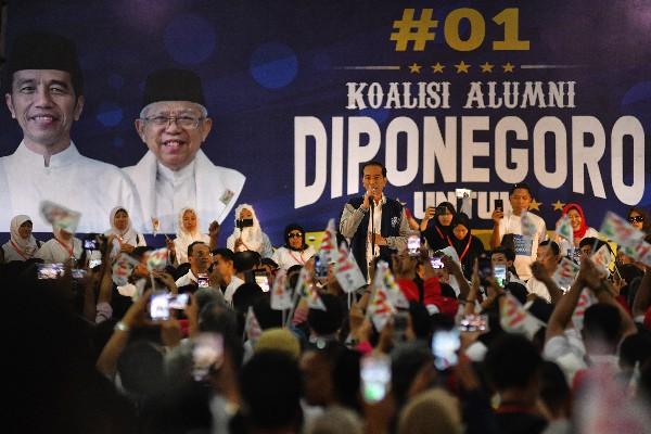 Jokowi-Ma'ruf Ditetapkan KPU Sebagai Pemenang Pilpres 2019