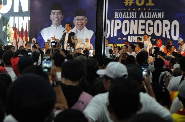 Hasil Real Count KPU, Jokowi-Amin Masih Unggul 54,78%