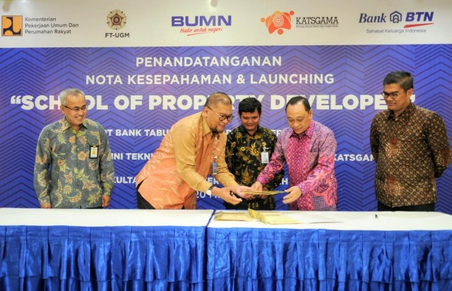 BTN Gandeng Perguruan Tinggi Inisiasi School of Property Developer