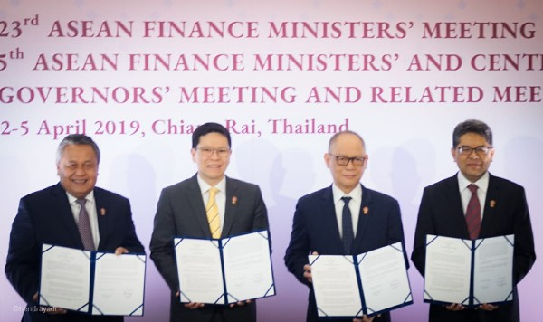 Empat Bank Sentral Berkomitmen Dorong LCS Framework