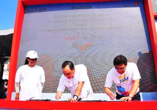 BTN Gandeng Telkom Dorong Fee Based