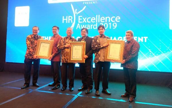 Lintasarta Sabet Tiga Penghargaan HR Excellence Award 2019
