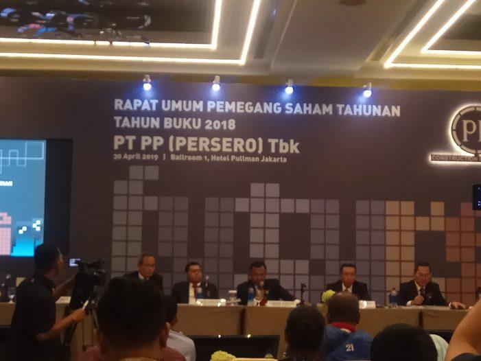 PTPP Bagikan Dividen Rp300 Miliar