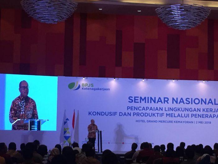 Peringati Mayday, BPJSTK Selenggarakan Seminar Nasional K3