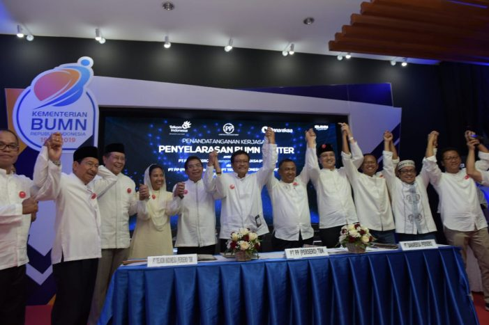 Kembangkan BUMN Center, PTPP Bersinergi Dengan Telkom dan Danareksa