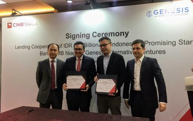 CIMB Niaga Gandeng Genesis Fasilitasi Pembiayaan Startup Rp300 Miliar