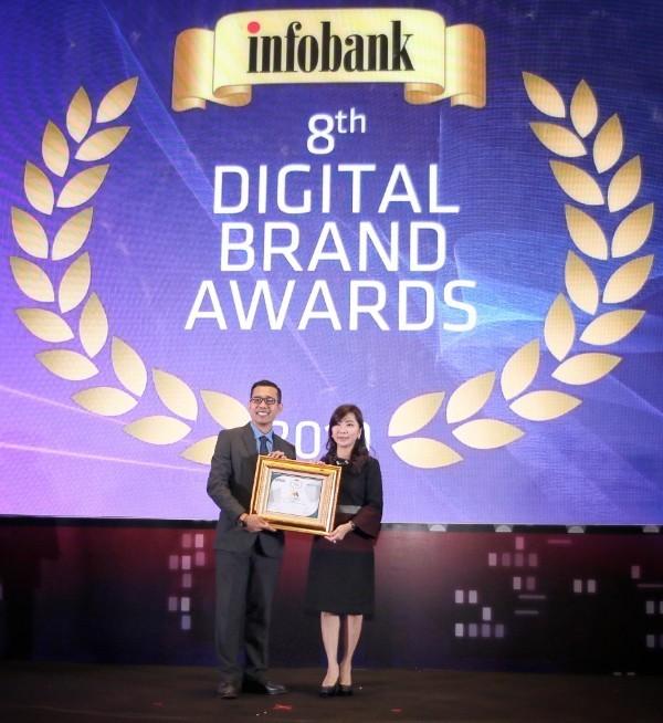 Bank Mega Raih 5 Penghargaan Digital Brand