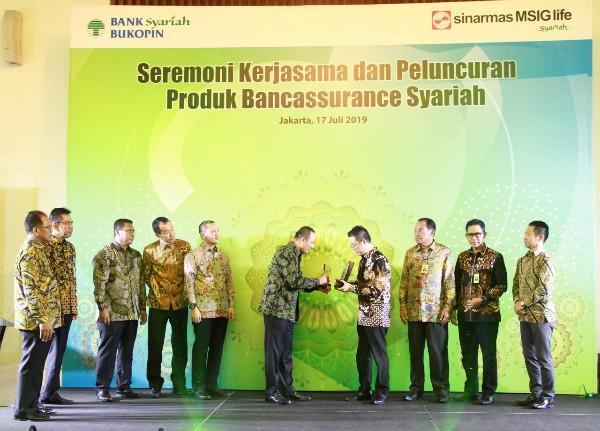 Kerja Sama Bancassurance Sinarmas MSIG Life-Bank Syariah Bukopin