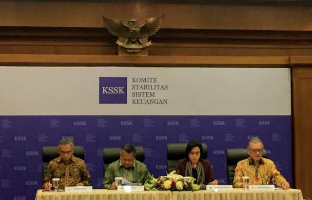 KSSK: Stabilitas Sistem Keuangan Semester I Masih Terjaga