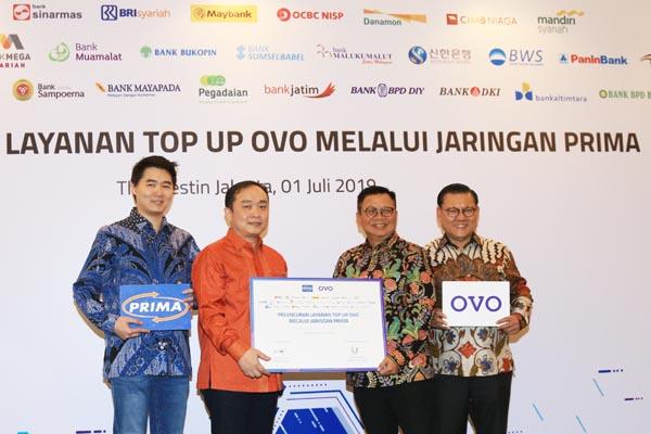 Kerja Sama Layanan Top Up OVO Melalui Jaringan PRIMA