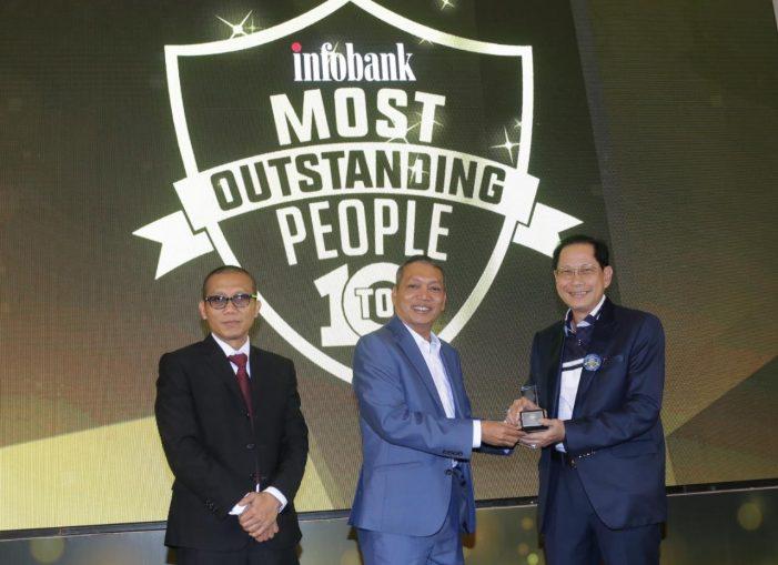 """Jahja Setiaatmadja Raih Penghargaan  """"Top 10 Outstanding People 2019"""""""