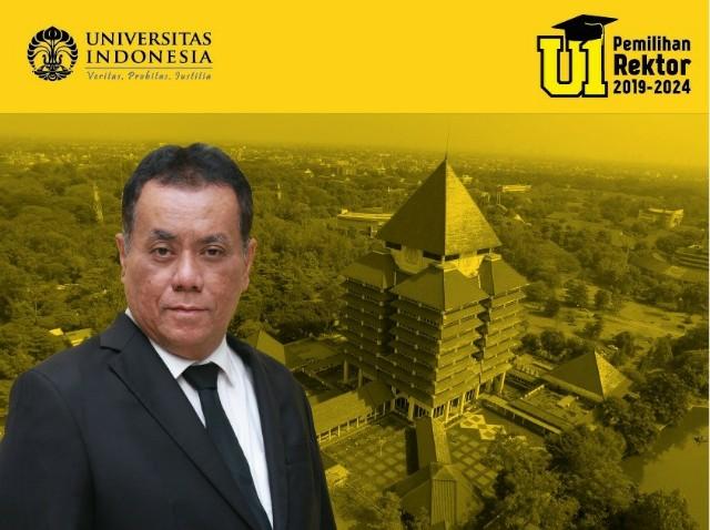 Ari Kuncoro Terpilih Jadi Rektor UI 2019-2024