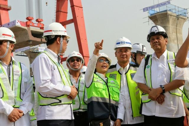 Proyek Kereta Cepat Jakarta-Bandung Percepat Pembangunan