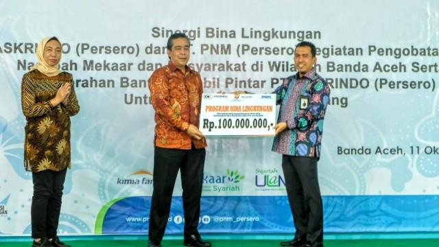 Askrindo Beri Bantuan Mobil Pintar Untuk Aceh