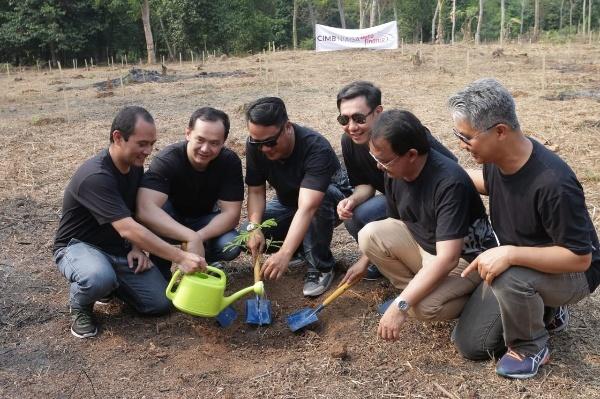 Berdayakan 500 Petani Tanam Sengon, CNAF Diganjar Rekor MURI