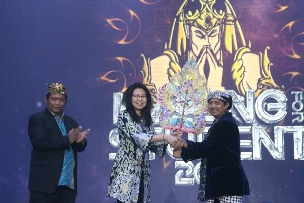 BCA Gelar Wayang for Student di Bandung