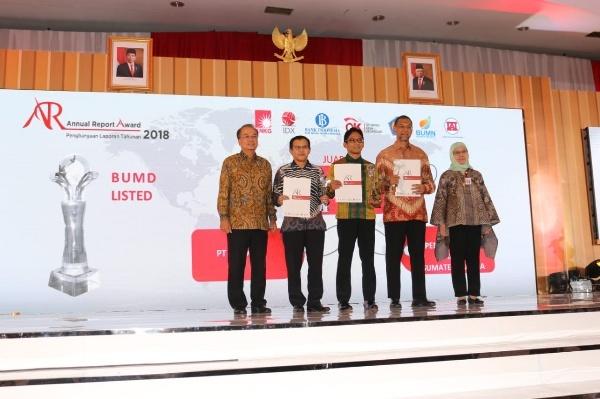Bank DKI Sabet Penghargaan ARA