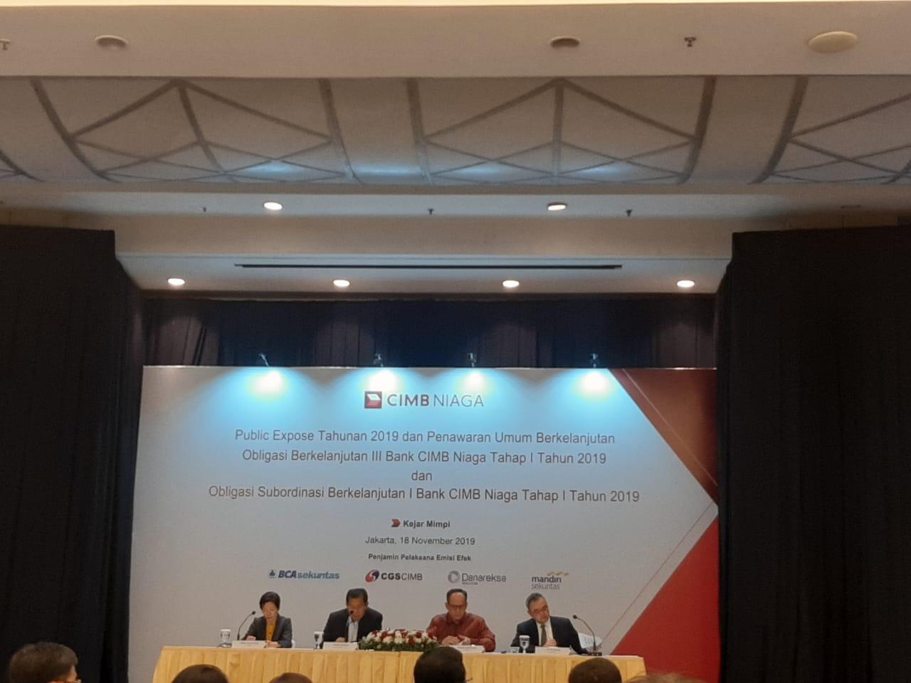 CIMB Niaga Tawarkan Surat Utang Rp1 triliun