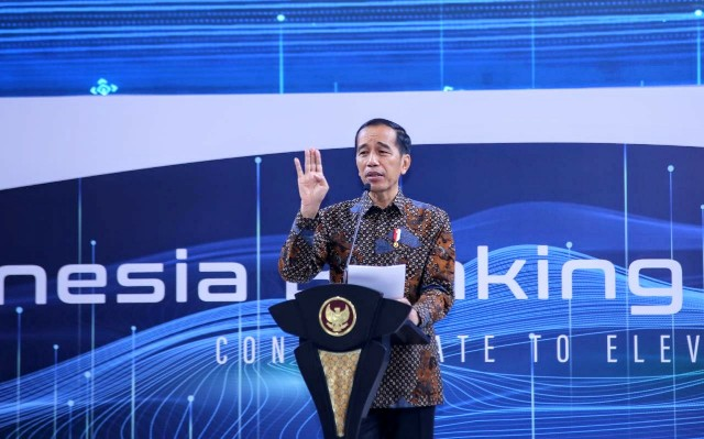 Jokowi Sindir Perbankan Turunkan Bunga Kredit