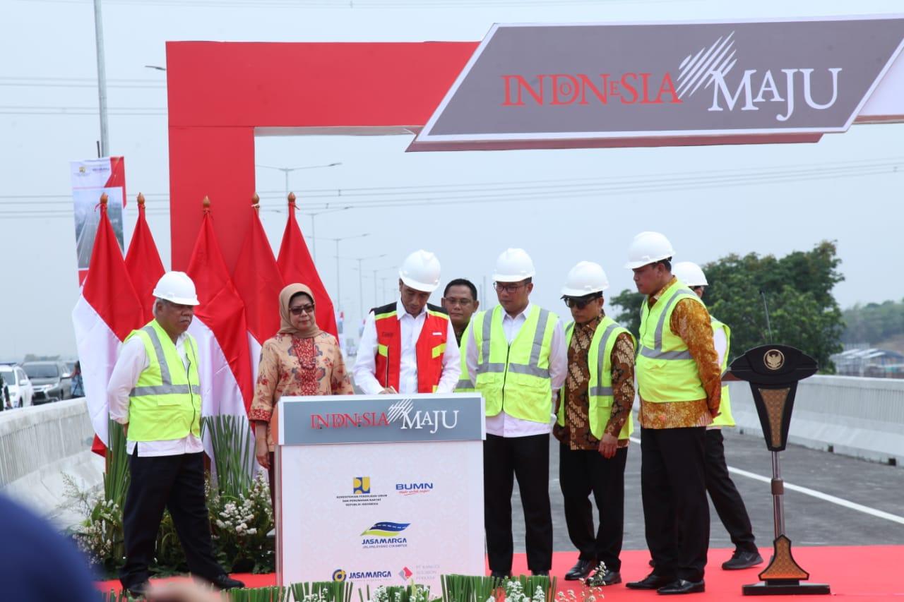 Presiden Jokowi Resmikan  Tol Layang Jakarta – Cikampek II Elevated
