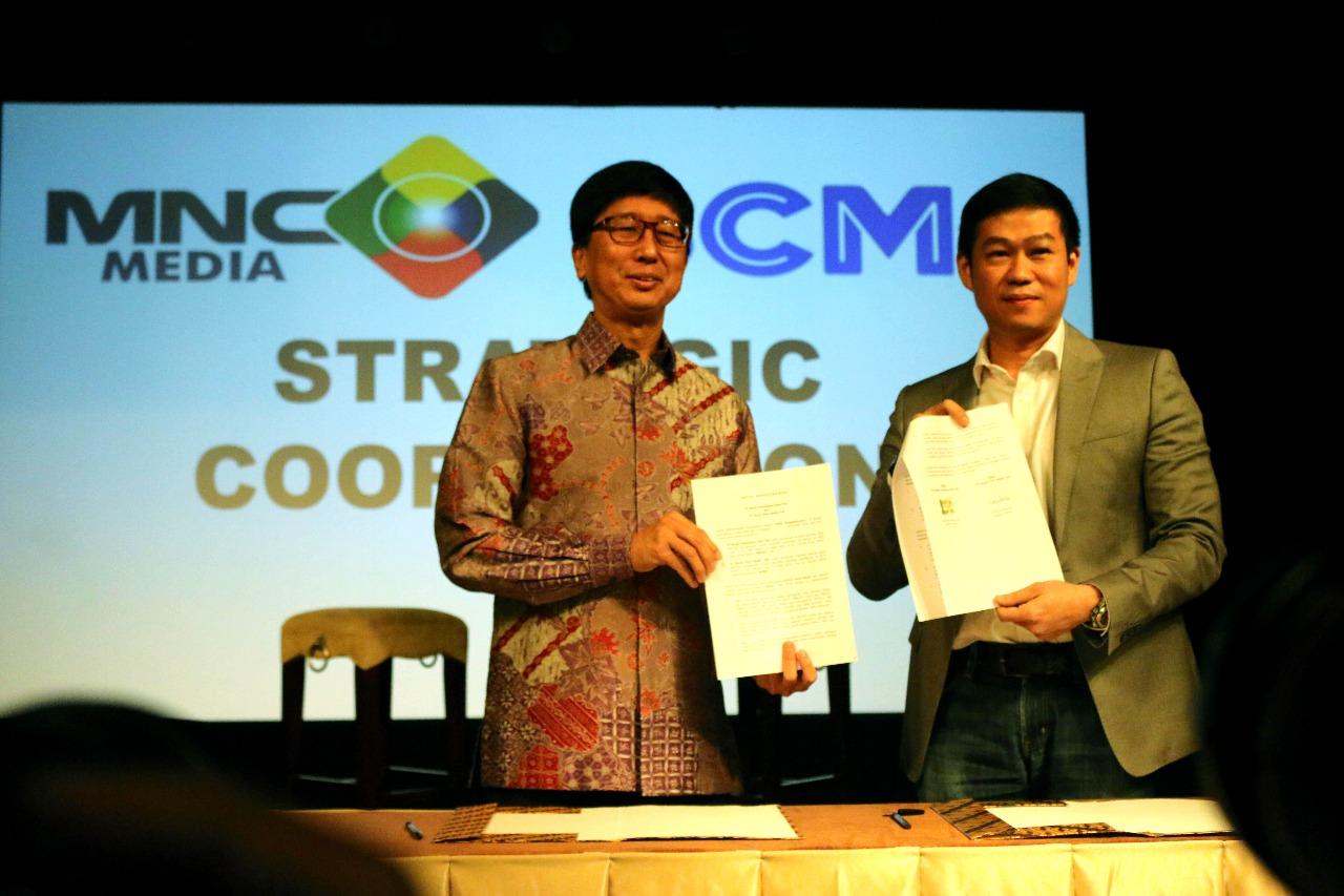 MNCN dan SCMA Umumkan Kerjasama Strategis