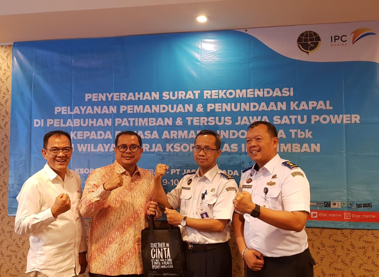 IPCM Raih Rekomendasi Pemanduan dan Penundaan Kapal di Patimban