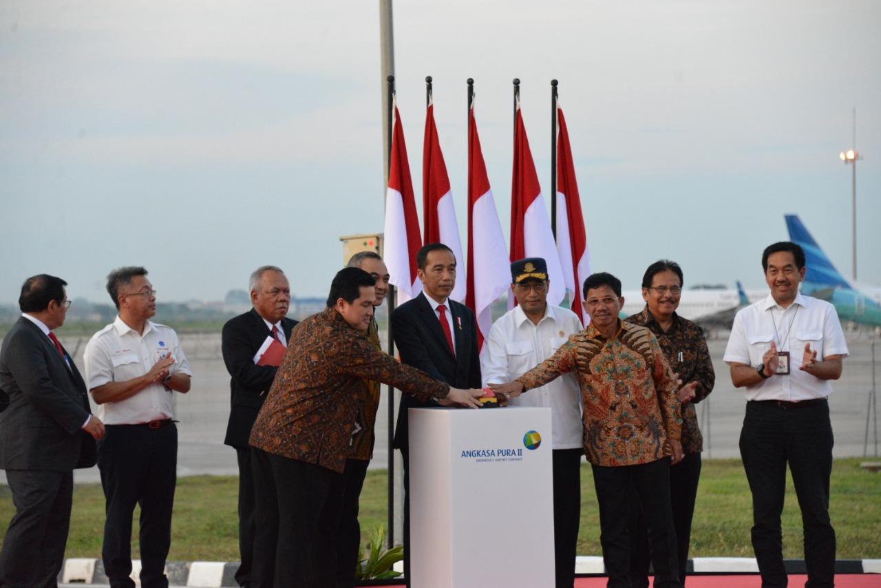 Presiden Joko Widodo Kembali Resmikan Proyek PTPP
