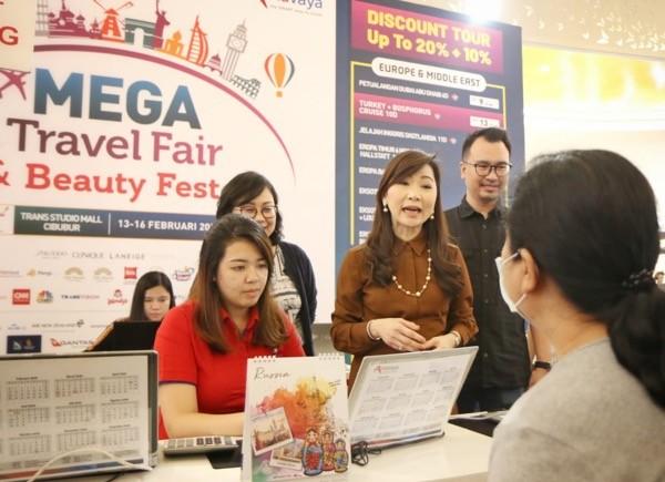 Mega Travel Fair Tawarkan Konsep Baru