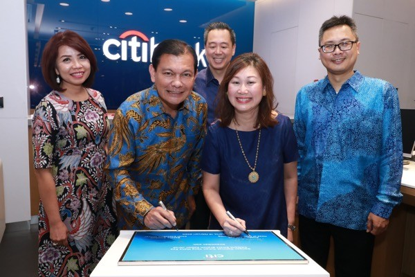 Peresmian Relokasi Citibank Smart Branch
