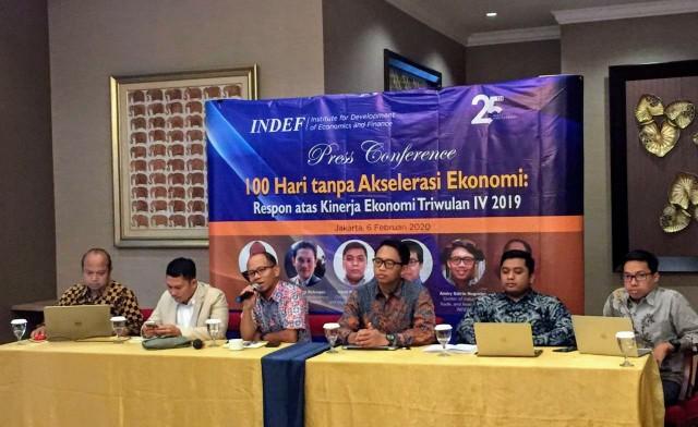 Ekonomi RI Melambat, Indef Salahkan Tim Ekonomi Jokowi