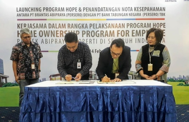 Gandeng Abipraya, BTN Tawarkan Cicilan KPR hingga 30 Tahun