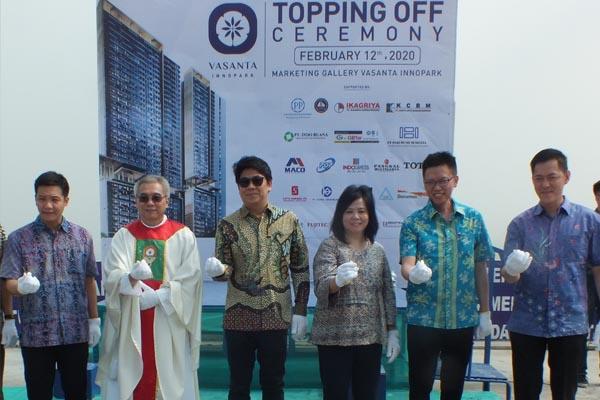 Topping Off Ceremony Vasanta Innopark