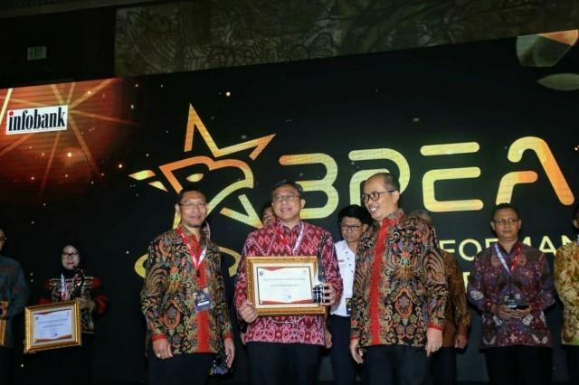 Dukung Pertumbuhan UMKM, Jamkrindo Raih BPEA 2020 Predikat Good Performance