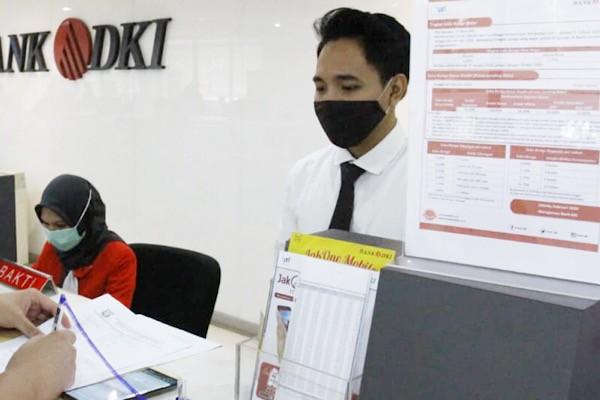 Bank DKI Tetap Layani Nasabah