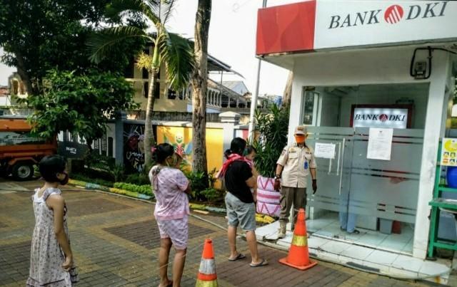 KJP Cair, Bank DKI Imbau Pemegang KJP Plus & KJMU Patuhi PSBB