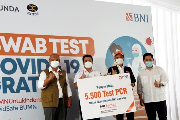 BNI Adakan Test Swab Gratis bagi Masyarakat