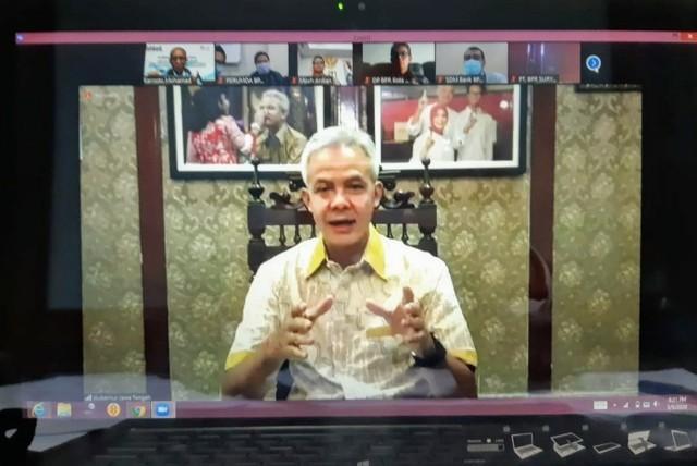 Ganjar Pranowo: BUMD Miliki Peran Vital Pulihkan Ekonomi dari Dampak Covid-19