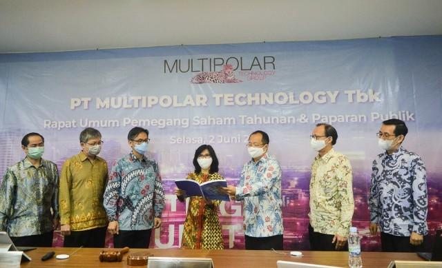 RUPST Multipolar Technology Bagi Dividen dan Rubah Susunan Direksi