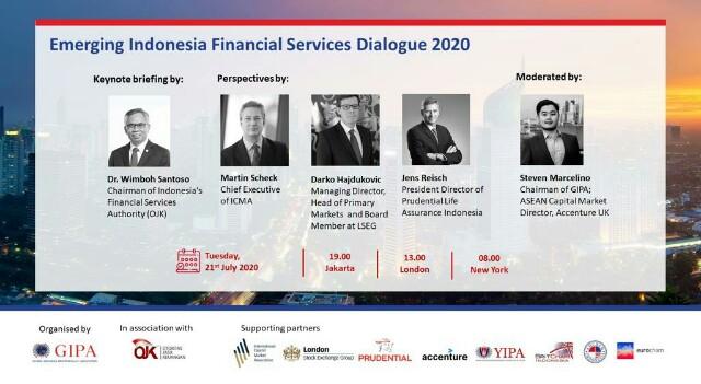 OJK Tantang Perusahaan Keuangan Global, Genjot Pemulihan Ekonomi Indonesia