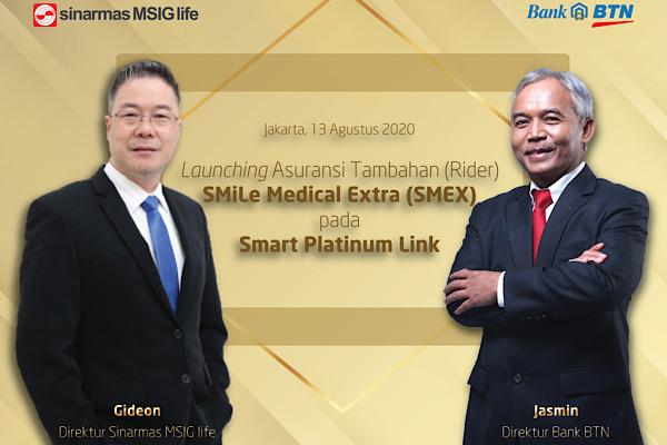 Bidik Kalangan Affluent, Sinarmas MSIG Life Input SMEX
