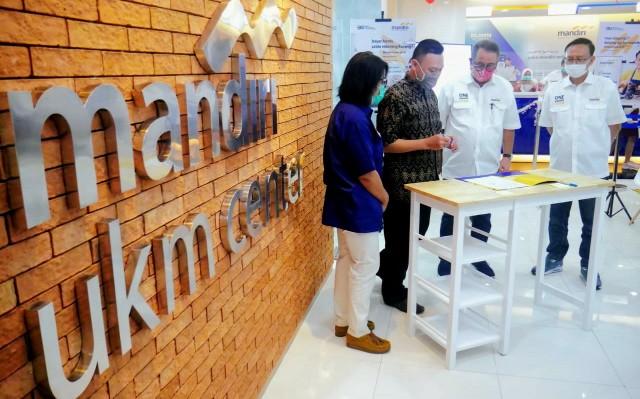 Integrasikan Layanan, Bank Mandiri Kembangkan Pusat UKM