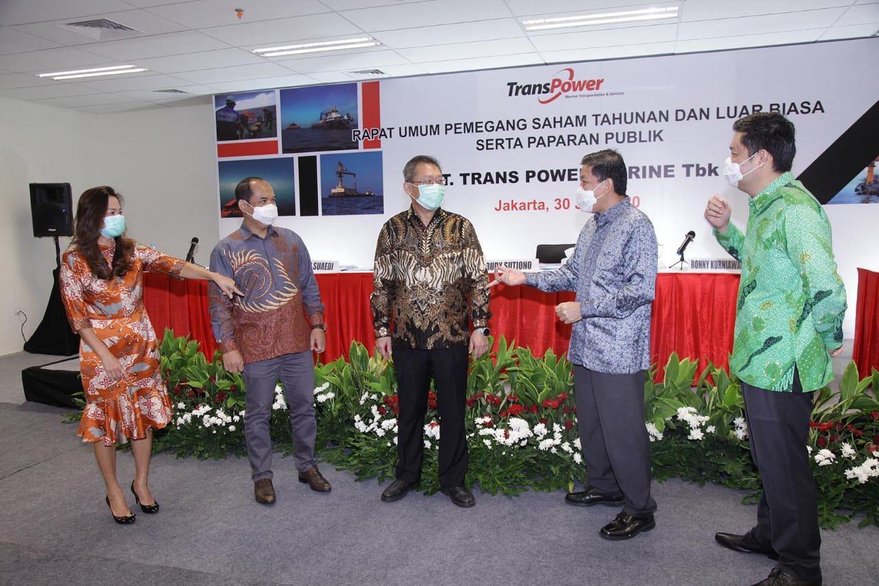 TPMA RUPS Tahunan Trans Power Marine Bagikan Dividen   Infobanknews