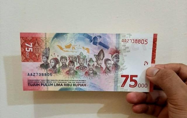 Bank Mandiri Siapkan 408 Cabang Untuk Penukaran Uang Baru Rp75.000