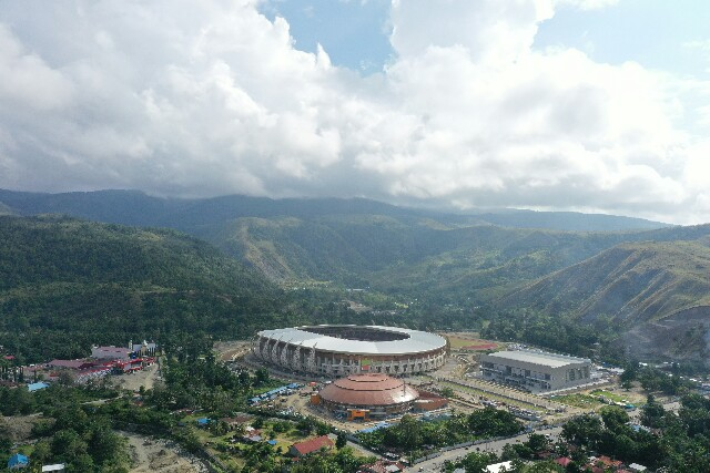 PTPP Siap Rampungkan Proyek Istora Papua