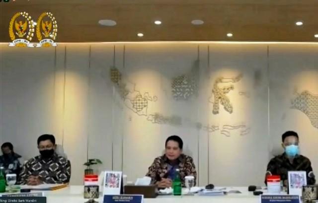 Dihadapan DPR, Bank Mandiri Paparkan 3 Strategi Hadapi Pandemi