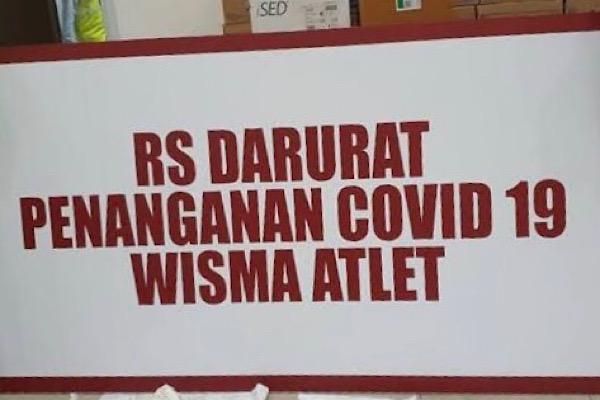 71,60% Pasien RS Darurat Covid-19 Sembuh
