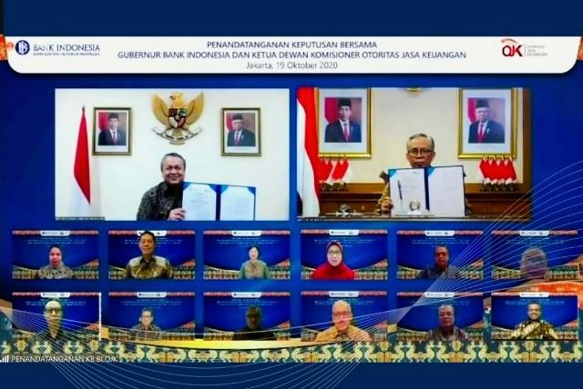 BI dan OJK Sepakat Perlancar Proses Pemberian PLJP Perbankan