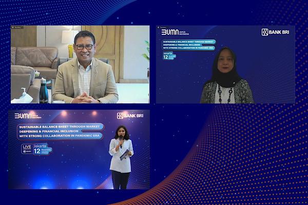 Bentuk Soliditas, BRI Gelar Virtual Gathering Bersama Perbankan dan BPD